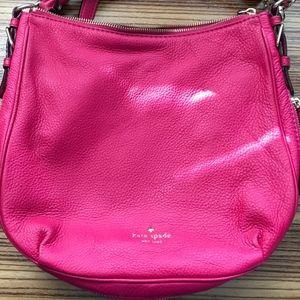 Kate Spade Cobble Hill Small Ella Bag Pink - EUC